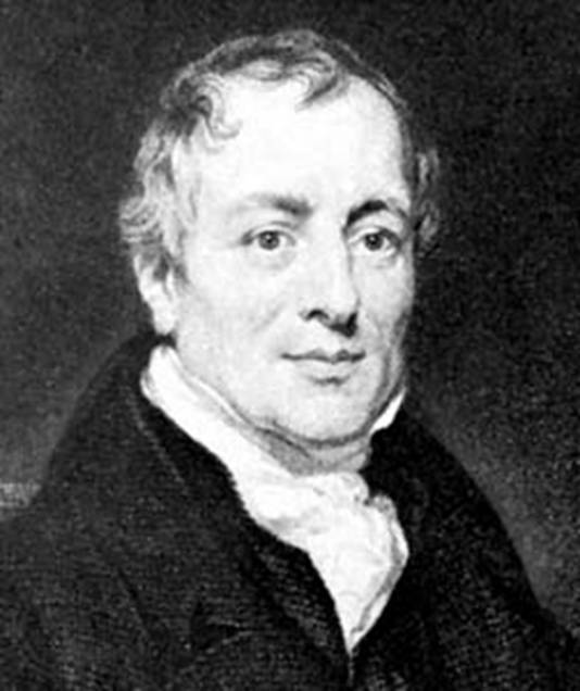 Photograph:David Ricardo, portrait by Thomas Phillips, 1821; in the National Portrait Gallery, London.